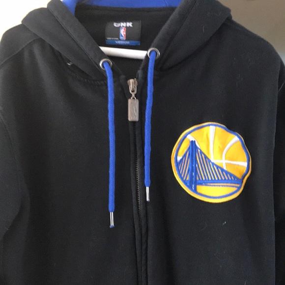 Golden State Warrior Zip up jacket Size Medium